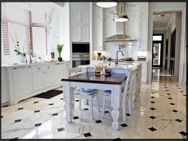 tipos de piso para cozinha