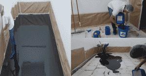 como aplicar porcelanato liquido