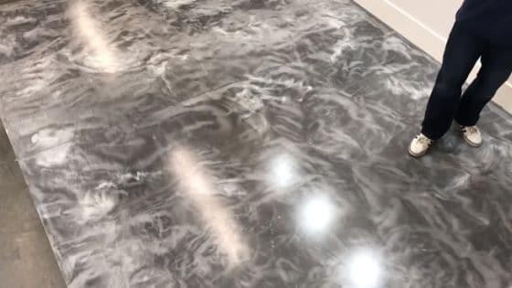 piso de porcelanato líquido