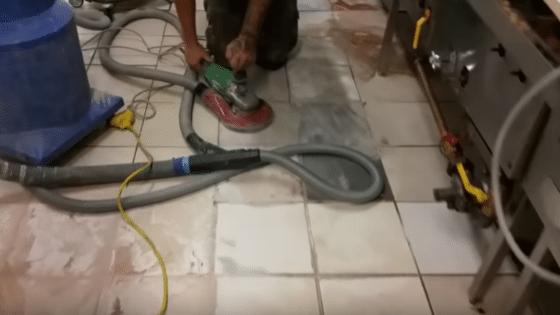 removendo brilho da cerâmica