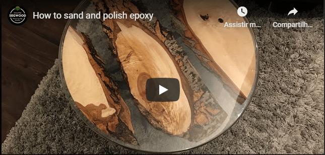 como polir resina epoxi